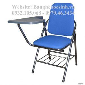 Ghế cá nhân có bàn viết, ghế gấp có bàn đẹp., Ghế gấp liền bàn, ghế gấp liền bàn có chỗ để cặp