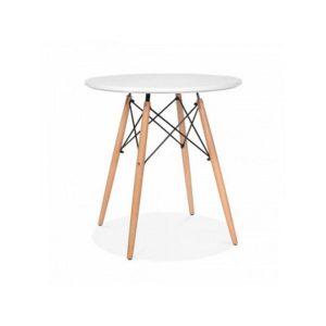 Bộ bàn ghế mặt nhựa chân gỗ